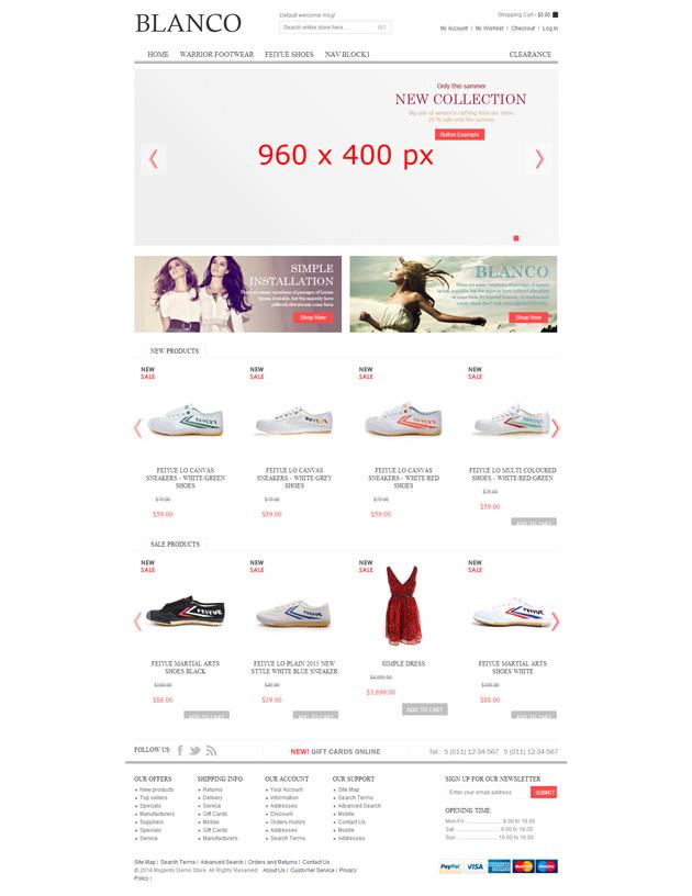 网站案例:BLANCO外贸网站