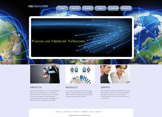 网站案例:ShenZhen FIBE Industry Co.,Ltd